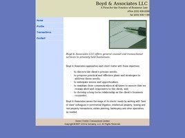 Firm Logo for Boyd & Associates LLC