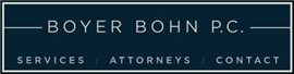 Firm Logo for Boyer Bohn p.c.