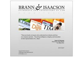 Brann & Isaacson Law Firm Logo