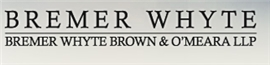 Bremer, Whyte, Brown & O'Meara, LLP Law Firm Logo