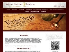 Brenna, Brenna & Boyce, PLLC Law Firm Logo