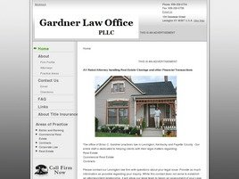 Firm Logo for Gardner Law Office PLLC