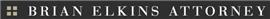 Brian E. Elkins Law Firm Logo