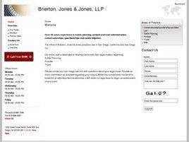Firm Logo for Brierton Jones Jones LLP