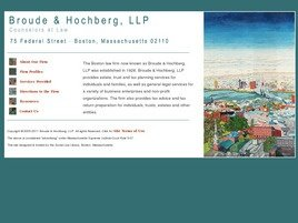 Firm Logo for Broude Hochberg L.L.P.