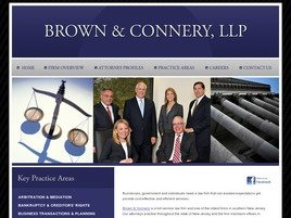 Firm Logo for Brown Connery LLP