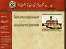 Brown, Dean, Wiseman, Proctor, Hart & Howell, L.L.P.
