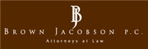 Brown Jacobson P.C. Law Firm Logo