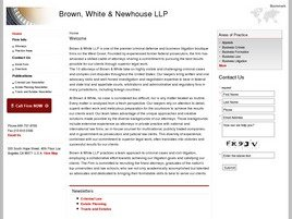 Firm Logo for Brown White Newhouse LLP
