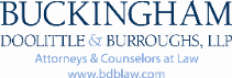 Buckingham, Doolittle & Burroughs, LLP Law Firm Logo
