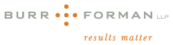 Burr & Forman LLP Law Firm Logo
