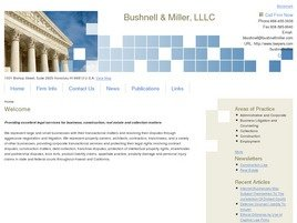 Bushnell & Miller, LLLC Law Firm Logo