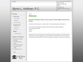 Firm Logo for Byron L. Huffman P.C.