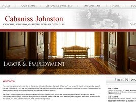 Firm Logo for Cabaniss, Johnston, Gardner, Dumas <br />& O'Neal LLP