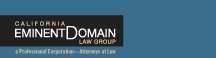 Firm Logo for California Eminent Domain Law Group APC