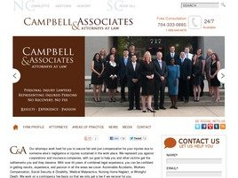 Campbell & Associates, PLC Law Firm Logo
