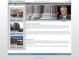 Campbell Woods, PLLC Law Firm Logo