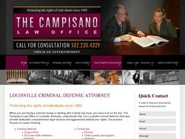 Firm Logo for The Campisano Law Office