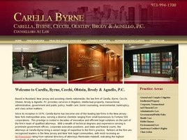Firm Logo for Carella Byrne Cecchi Olstein Brody Agnello P.C.