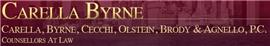 Carella, Byrne, Cecchi, Olstein <br />Brody & Agnello, P.C. Law Firm Logo
