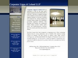 Carpenter Lipps & Leland LLP Law Firm Logo