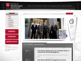 Carson Boxberger LLP Law Firm Logo