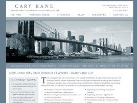 Cary Kane LLP Law Firm Logo