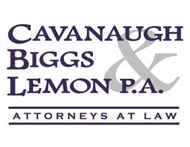 Firm Logo for Cavanaugh Biggs Lemon P.A.