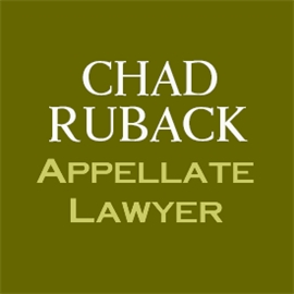 Firm Logo for Chad Ruback Appellate Lawyer
