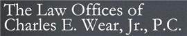 Firm Logo for Charles E. Wear, Jr., P.C.