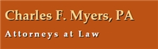 Charles F. Myers, P.A. Law Firm Logo