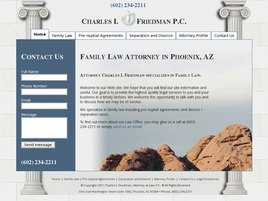 Charles I. Friedman, <br />Attorney at Law, P.C. Law Firm Logo