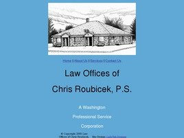 Firm Logo for Law Offices of Chris Roubicek P.S.