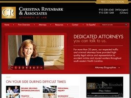 Christina Rivenbark & Associates Law Firm Logo