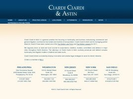 Ciardi Ciardi & Astin Law Firm Logo