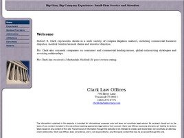 Firm Logo for Clark Law Offices