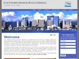 Clay Chapman Iwamura Pulice & Nervell Law Firm Logo
