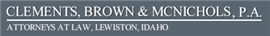 Clements, Brown & McNichols, P.A. Law Firm Logo