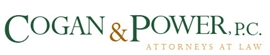 Firm Logo for Cogan Power P.C. Attorneys at Law