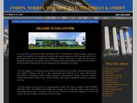 Firm Logo for Cohen, Norris, Wolmer, Ray, <br />Telepman & Cohen