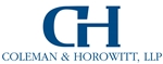 Coleman & Horowitt, LLP Law Firm Logo
