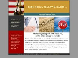 Cook Noell Tolley & Bates LLP Law Firm Logo