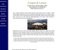 Firm Logo for Cooper Larsen