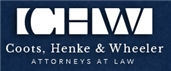 Coots, Henke & Wheeler <br />Attorneys at Law, P.C. Law Firm Logo