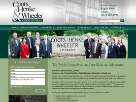 Firm Logo for Coots Henke Wheeler Attorneys at Law P.C.