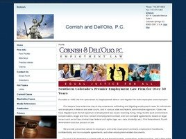 Firm Logo for Cornish & Dell'Olio, P.C.
