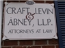 Craft, Levin &amp; Abney, L.L.P. Attorneys at Law