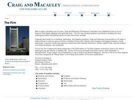 Craig and Macauley Professional Corporation