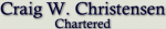 Craig W. Christensen <br />Chartered Law Firm Logo
