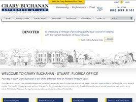 Crary Buchanan Law Firm Logo